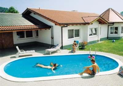 Piscine titro piscine private serie roll e oval - Piscine semi interrate prezzi ...